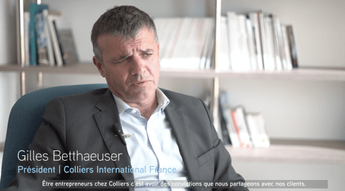 visuel marque Colliers International film promotionnel